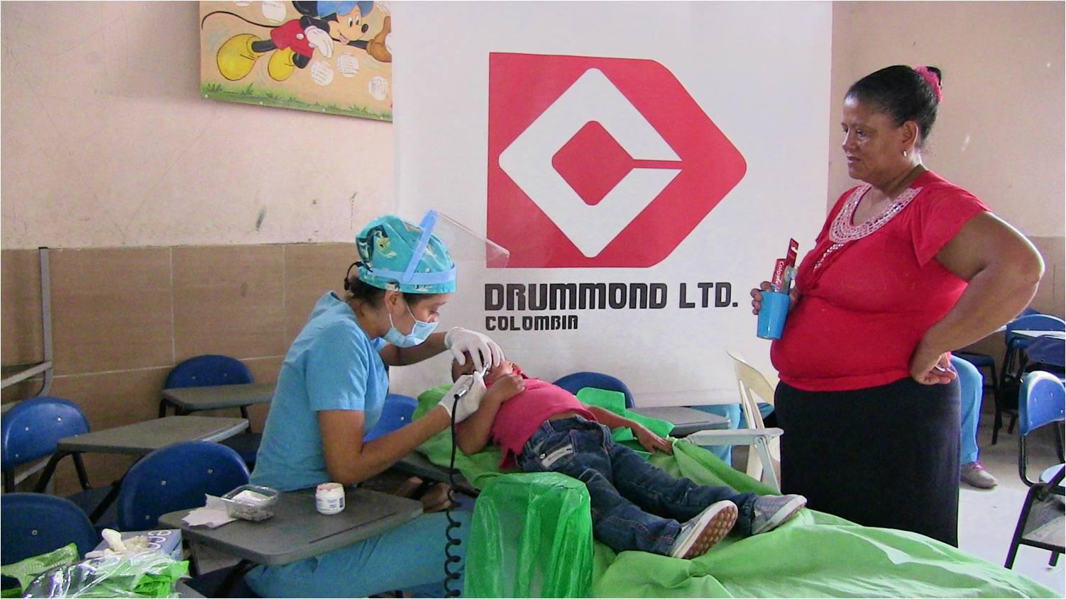 Durante la jornada se practicó limpieza bucal y valoración odontológica para niños
