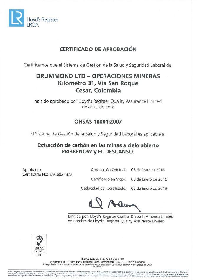 Certificate 2016 ESP