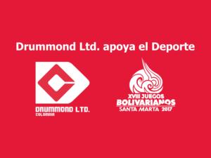 Drummond Ltd. Patrocinador oficial de los Juegos Bolivarianos 2017_