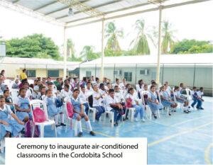 Entrega de aulas climatizadas_Colegio Cordobita Cienaga eng hd