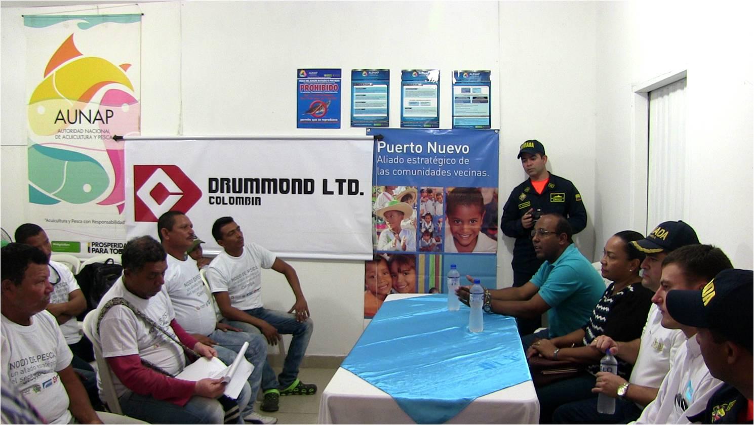 Entrega de implementos a favor de pescadores de Cienaga_DLTD