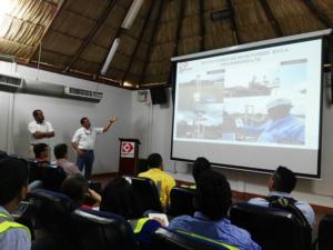 Ingenieros Fray Orozco y Freinys Fragozo, en la socialización