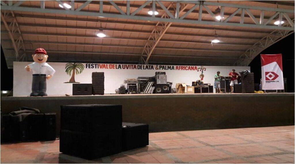 Festival de la Uvita de Lata y Palma Africana en La Aurora1_DLTD
