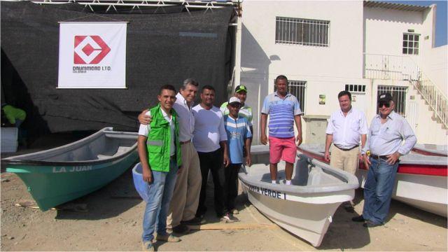 II Entrega de embarcaciones a pescadores