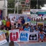 Jovenes protagonistas del juego de la Paz1_DLTD