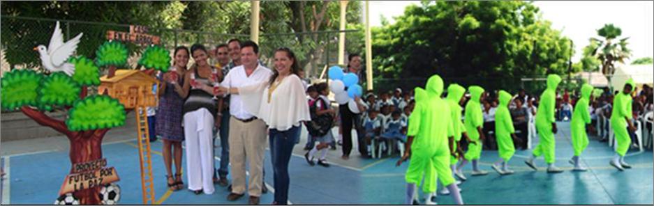 Lanzamiento de proyecto Futbol por la paz