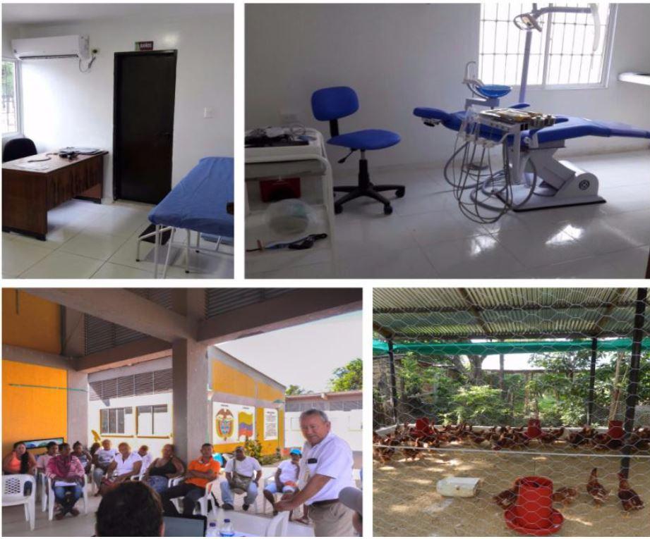 *Salud, educación y capacitación en proyectos productivos para la comunidad de Boquerón.