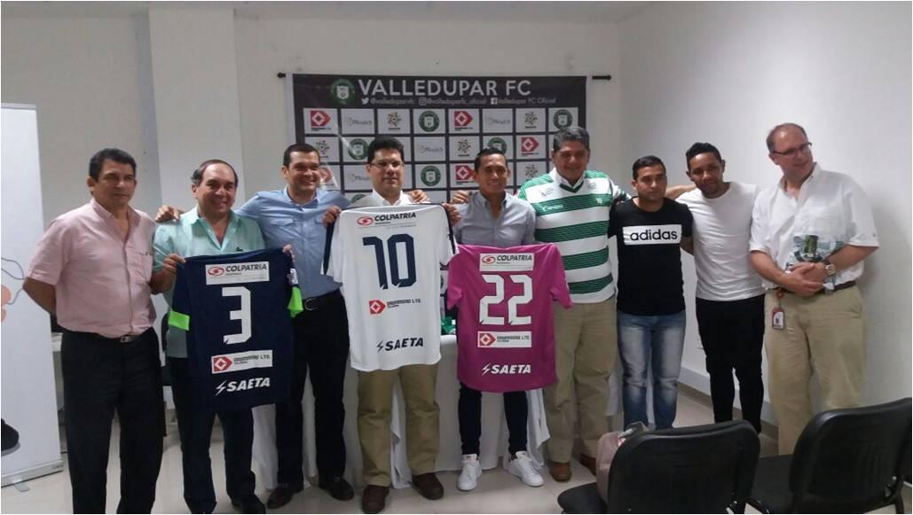 *El aporte del patrocinio por parte de la empresa servirá para apoyar la dotación de las categorías B, Sub 20 y Sub 17 del equipo verdiblanco.