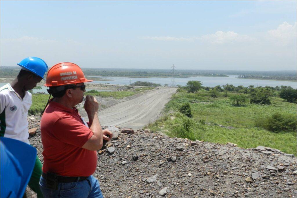 El Paujil reservoir overlook
