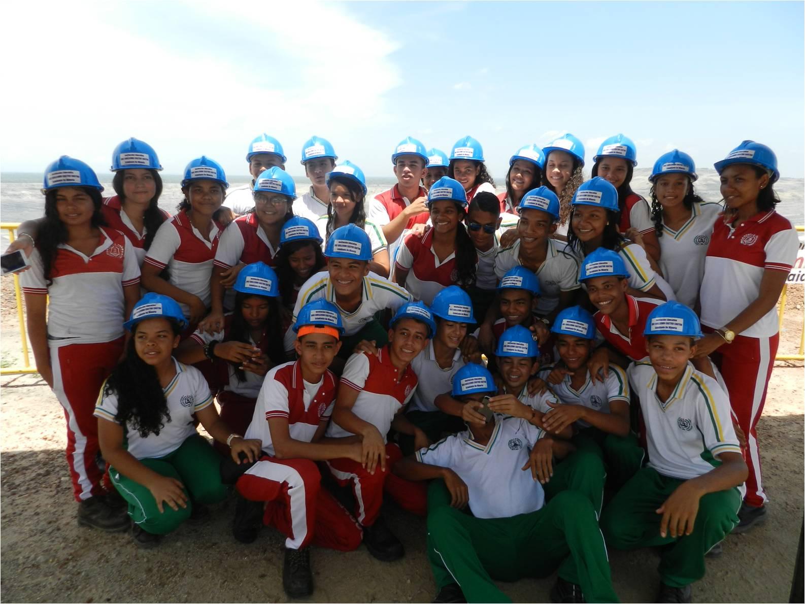 11th grade students of the Institución Educativa José Guillermo Castro Castro in La Jagua de Ibirico
