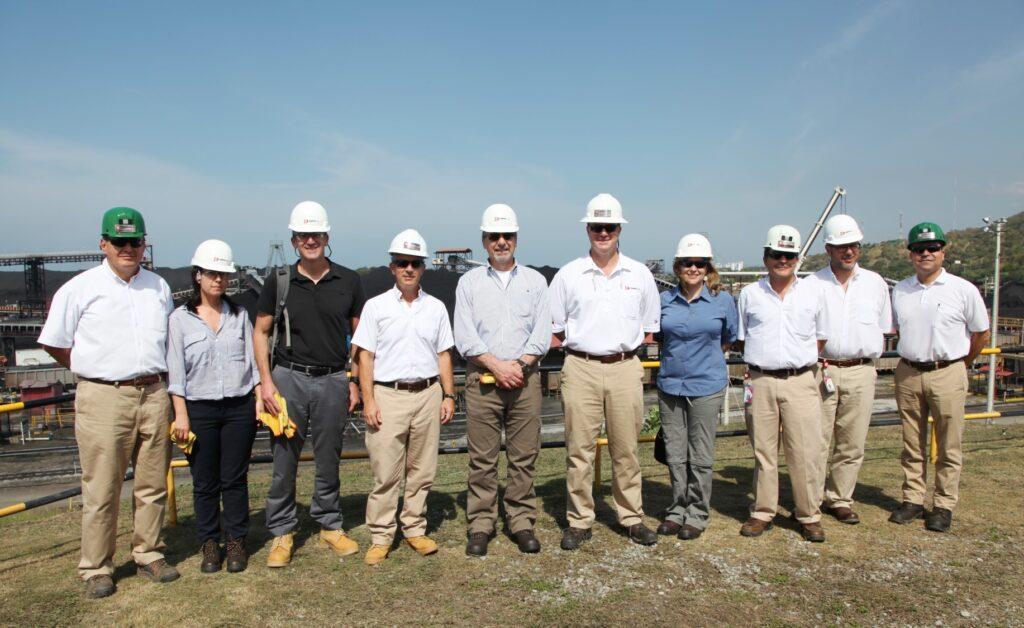 U S  Ambassador's visit to Puerto Drummond concludes with